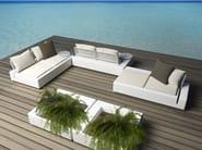 Sectional garden sofa KES - VONDOM