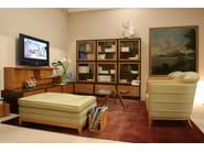 Upholstered pouf bed MOENA - Morelato