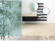 Ash bathroom wall shelf WENGÈ   Bathroom wall shelf - GD Arredamenti