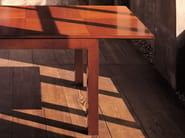 Extending rectangular cherry wood table '900 SCACCHI | Rectangular table - Morelato