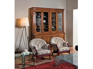 Upholstered rattan armchair SOPHIE   Armchair - Dolcefarniente by DFN