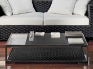 Low slate coffee table for living room DOMUS | Low coffee table - Dolcefarniente by DFN