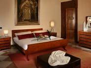 Cherry wood bed BIEDERMEIER | Double bed - Morelato