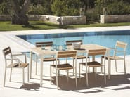 Stackable garden chair MERIDIEN | Garden chair - Ethimo