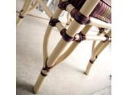 Upholstered rattan chair DORIAN   Chair - Dolcefarniente by DFN