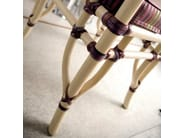 Upholstered rattan chair with armrests DORIAN | Chair with armrests - Dolcefarniente by DFN