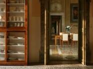 Upholstered cherry wood chair VESTA   Chair - Morelato