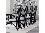 High-back rattan chair STILE - Dolcefarniente by DFN
