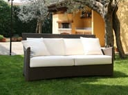 3 seater resin garden sofa SCAURI | 3 seater sofa - Dolcefarniente by DFN