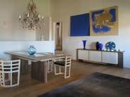 Wooden sideboard with doors CARTESIA | Sideboard - Morelato