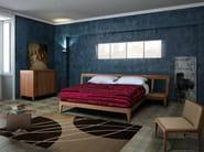 Walnut double bed MAGIC DREAM | Bed - Morelato
