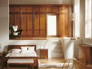 Sectional cherry wood wardrobe DIRETTORIO | Sectional wardrobe - Morelato