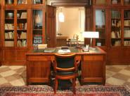 Wooden writing desk with drawers DIRETTORIO | Writing desk - Morelato