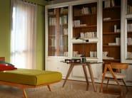 Sectional cherry wood bookcase MASCHERA   Bookcase - Morelato