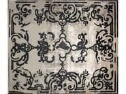 Handmade rectangular custom rug MAGELLAN SHADOW VINTAGE CARBONE - EDITION BOUGAINVILLE