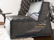 Leather armchair Jane - ITALY DREAM DESIGN - Kallisté