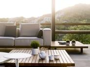 Modular garden sofa with water-repellent cushions VIS À VIS | Sofa - TRIBÙ