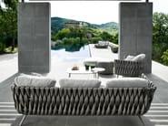 3 seater garden sofa TOSCA | 3 seater sofa - TRIBÙ