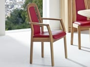 Wooden chair with armrests 1589AK | Chair with armrests - Dyrlund