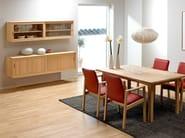 Suspended sideboard with sliding doors KURT ØSTERVIG | Suspended sideboard - Dyrlund