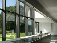 Ceiling mounted modular lighting profile USP 01 18 06 | Lighting profile for downlights - FLOS