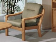 Armchair with armrests 1230 | Armchair - Dyrlund