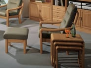 Wooden footstool 1230FS | Footstool - Dyrlund