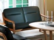 2 seater wooden sofa 1250   2 seater sofa - Dyrlund