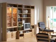 Wooden storage wall K4 | Storage wall - Dyrlund
