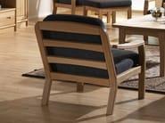 Armchair with armrests 1260K | Armchair - Dyrlund