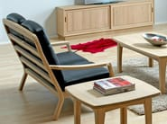 2 seater wooden sofa 1260HK | 2 seater sofa - Dyrlund