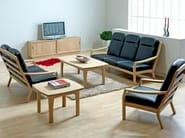 3 seater wooden sofa 1260HK | 3 seater sofa - Dyrlund