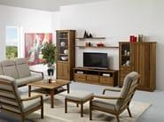 Wooden TV cabinet TV3-3 | TV cabinet - Dyrlund