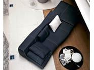 Sectional fabric sofa BEND | Sectional sofa - B&B Italia