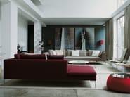 Corner sectional fabric sofa CHARLES | Corner sofa - B&B Italia