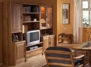 Sectional wooden storage wall K2 | Storage wall - Dyrlund