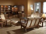 2 seater wooden sofa 1240AH   2 seater sofa - Dyrlund