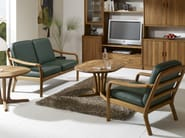 2 seater wooden sofa 1260 | 2 seater sofa - Dyrlund