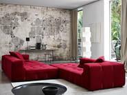 Sectional fabric sofa TUFTY-TOO | Sectional sofa - B&B Italia