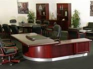 L-shaped executive desk SUPER SKYLINE | Office desk - Dyrlund