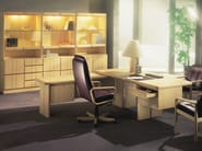 Wooden office storage unit / office shelving COMMODORE | Office storage unit - Dyrlund