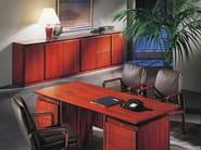 Wooden sideboard / office storage unit APOLLO | Low office storage unit - Dyrlund