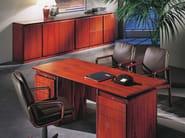 Rectangular executive desk APOLLO | Rectangular office desk - Dyrlund