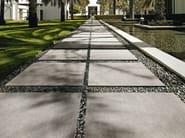 Porcelain stoneware outdoor floor tiles with concrete effect MEMORIES | Outdoor floor tiles - CERAMICA SANT'AGOSTINO