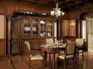 Walnut highboard with doors with drawers AIDA | Highboard - Martini Mobili