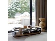 Low rectangular wooden coffee table SURFACE | Coffee table - B&B Italia