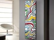 Vertical wall-mounted carbon steel decorative radiator FRAME CORALLO - CORDIVARI