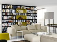 Open sectional bookcase FLAT.C - B&B Italia