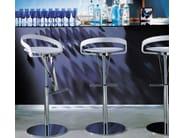 Height-adjustable swivel stool CAYMAN - ITALY DREAM DESIGN - Kallisté