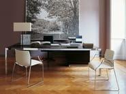 Rectangular executive desk PROGETTO 1 | Wooden office desk - B&B Italia Project, a brand of B&B Italia Spa